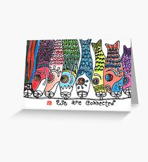 Reunion (Koinobori) Greeting Card