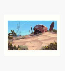 Mojave Metal III Kunstdruck