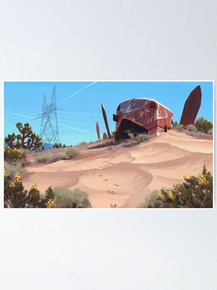 Alternate view of Mojave Metal III Poster