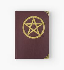 Book of Shadows - Red leather and Brass Hardcover Journal