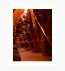 Antelope Canyon 1 Art Print
