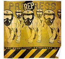Keep Quiet! Poster