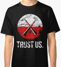 Camiseta clásica Pink Floyd confiamos en nosotros