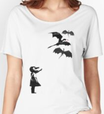 Dragons Will Be Dragons Women's Relaxed Fit T-Shirt
