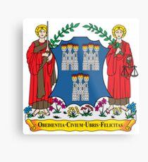 Coat of Arms of Dublin Metal Print