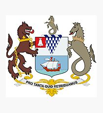 Coat of Arms of Belfast  Photographic Print