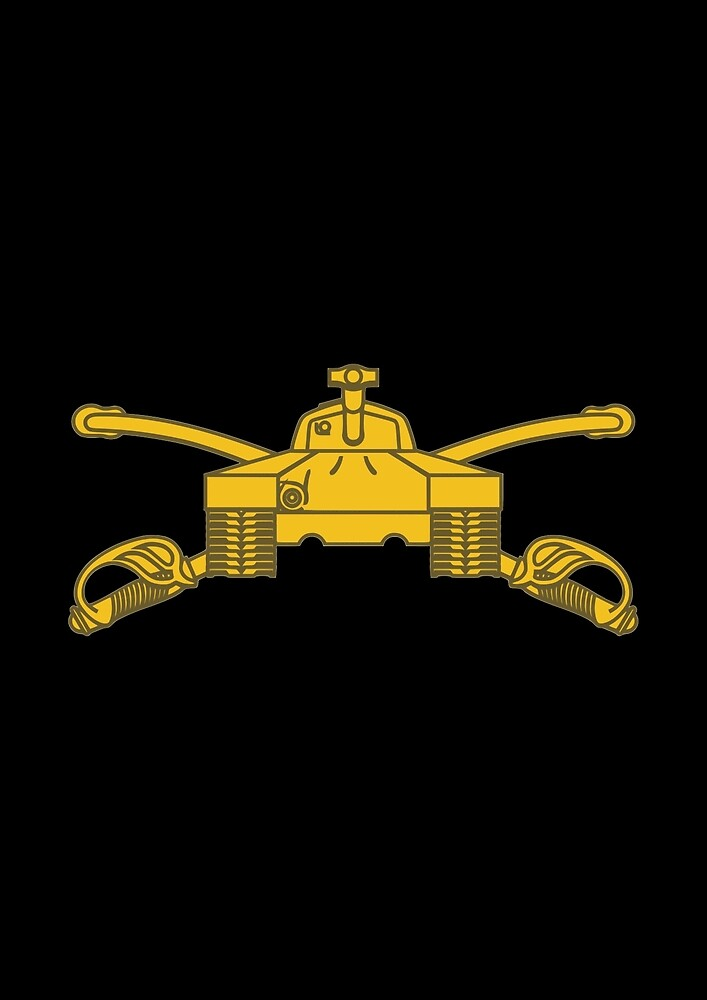 Armor Branch (United States Army) by wordwidesymbols