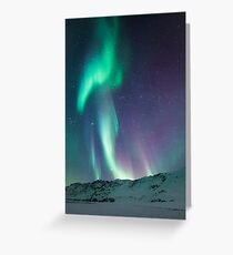 The aurora giant Greeting Card