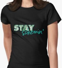 Stay Schemin Women's Fitted T-Shirt
