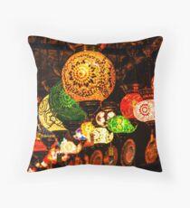 Decoration Lamps Throw Pillow