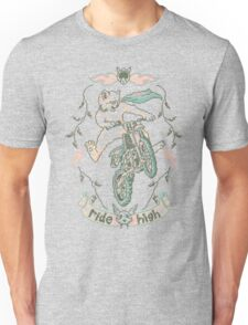 Motocross-Stitch Kitteh T-Shirt