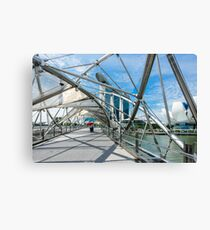 The Helix Canvas Print