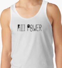 "HiiiPOWER (""There He Go"" Version / Black) Tank Top"