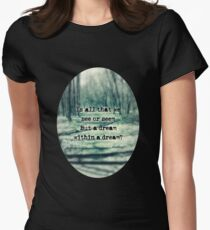 A Dream Within A Dream Women's Fitted T-Shirt