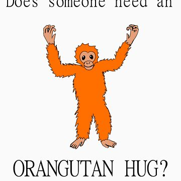 Someone Needs an Orangutan Hug by SheWhoKnits