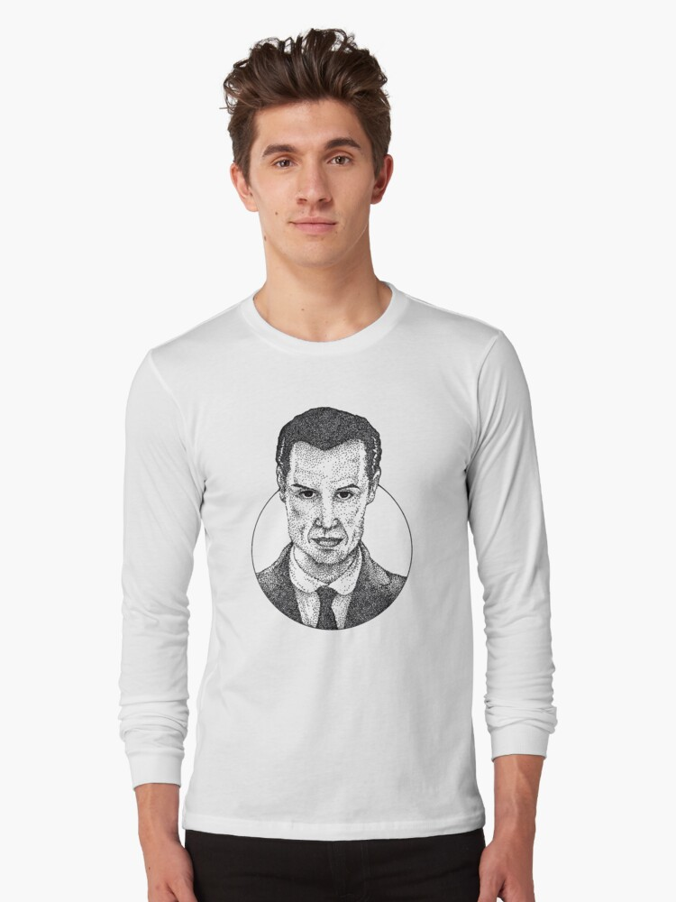 Jim Moriarty Long Sleeve T-Shirt Front