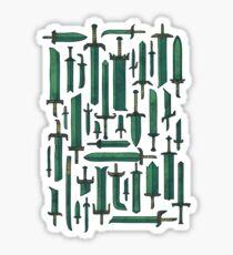 Bunch of Blades Sticker
