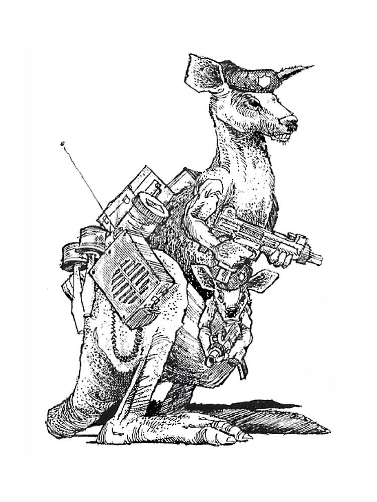 Royal Australian Kangaroo Guard by SinVexin