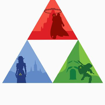 Triforce Divided by DruyiiDesigns