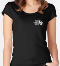 The dark side Women's Fitted Scoop T-Shirt