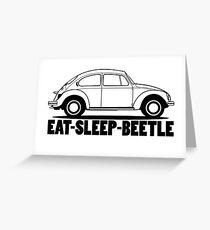 VW - Beetle  Greeting Card