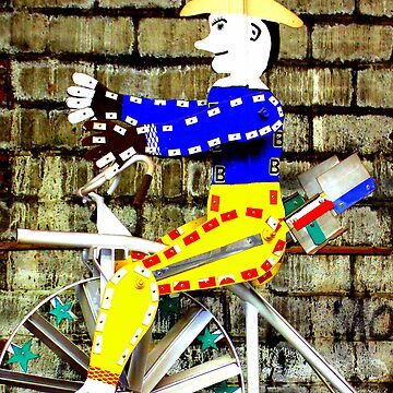 Tricycle Man by CeciliaCarr