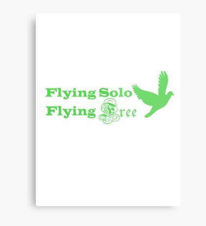 Flying Solo Flying Free Metal Print