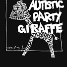 Autistic Party Giraffe - White by sparrowrose