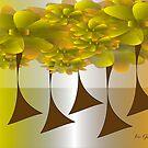 Floral Forest by IrisGelbart