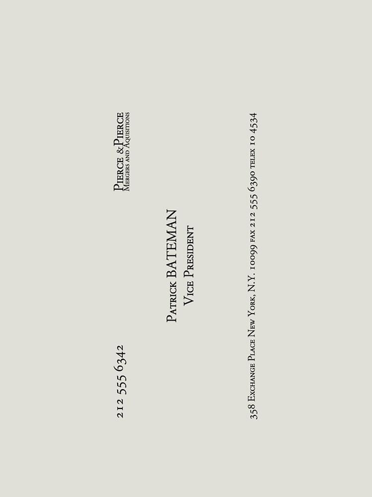 Patrick Bateman Business Card\