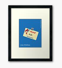 Ash Housewares Minimalist Framed Print
