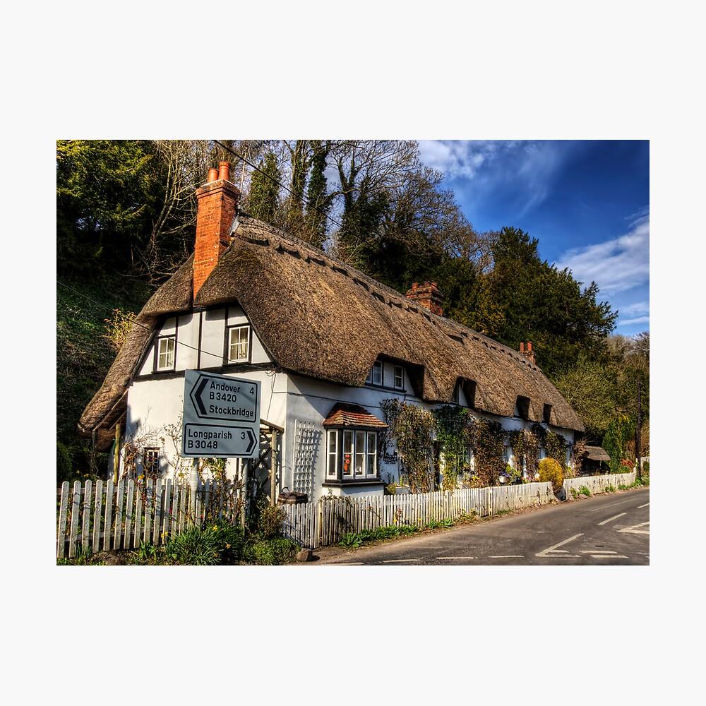 Shepards Cottage, Wherwell, Hampshire Photographic Print