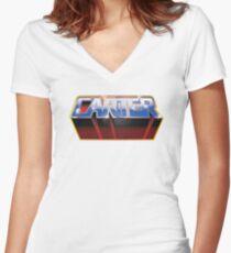 Carter Women's Fitted V-Neck T-Shirt