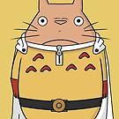 One punch Totoro by Ednathum