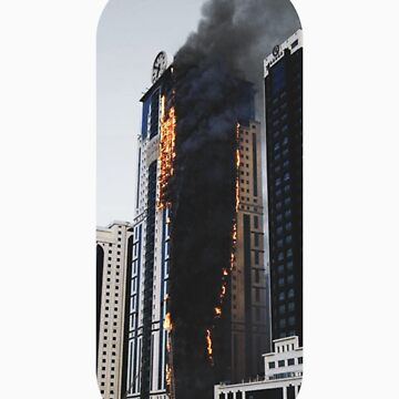 Building in fire by mkcvte