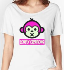 Lonely Creations Quiet Ape  Women's Relaxed Fit T-Shirt