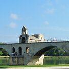 Le Pont d'Avignon (Pont St Bénézet) by looneyatoms