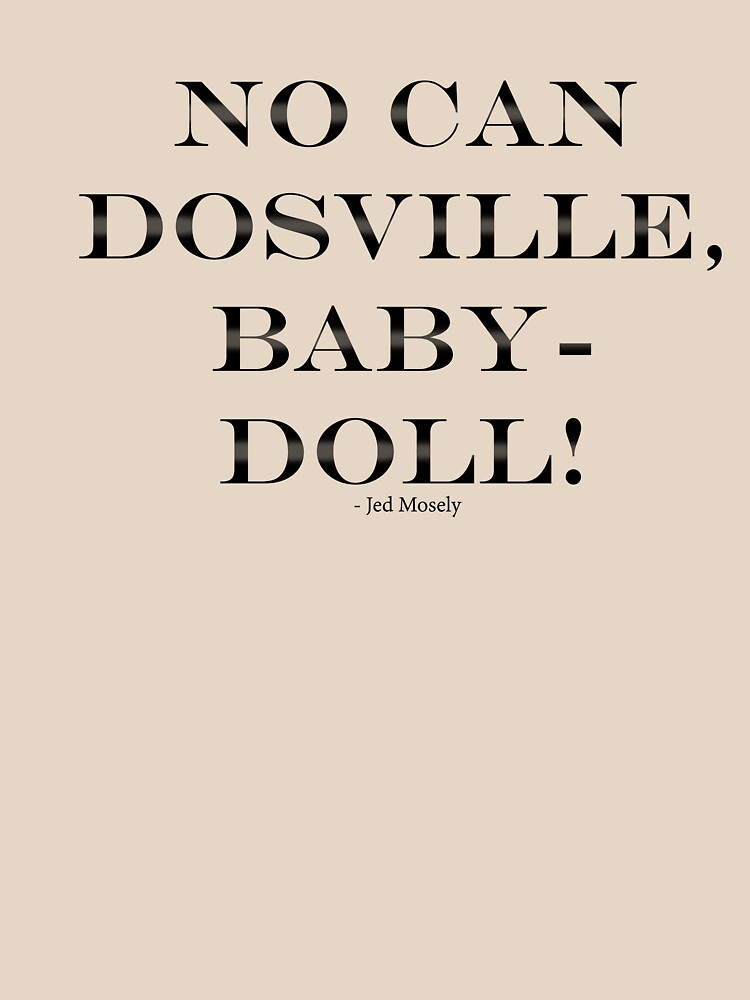 No Can Baby Baby Doll de Dosville de chrishot