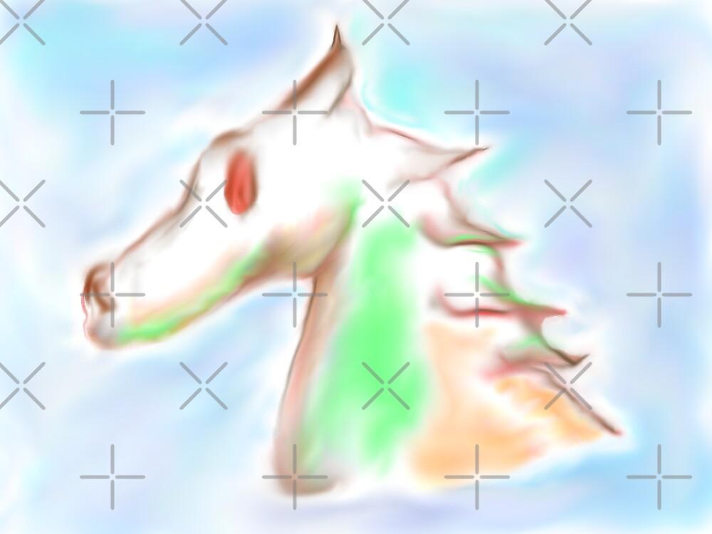 Evil Seahorse by Almdrs