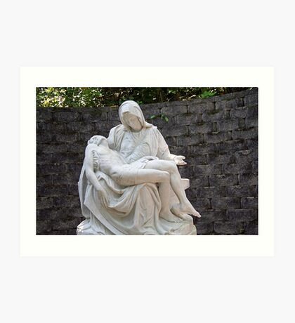 a Man of sorrows, and acquainted with grief Art Print