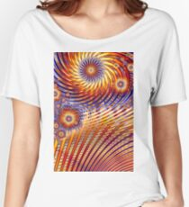 Pinwheel Abstract Women's Relaxed Fit T-Shirt
