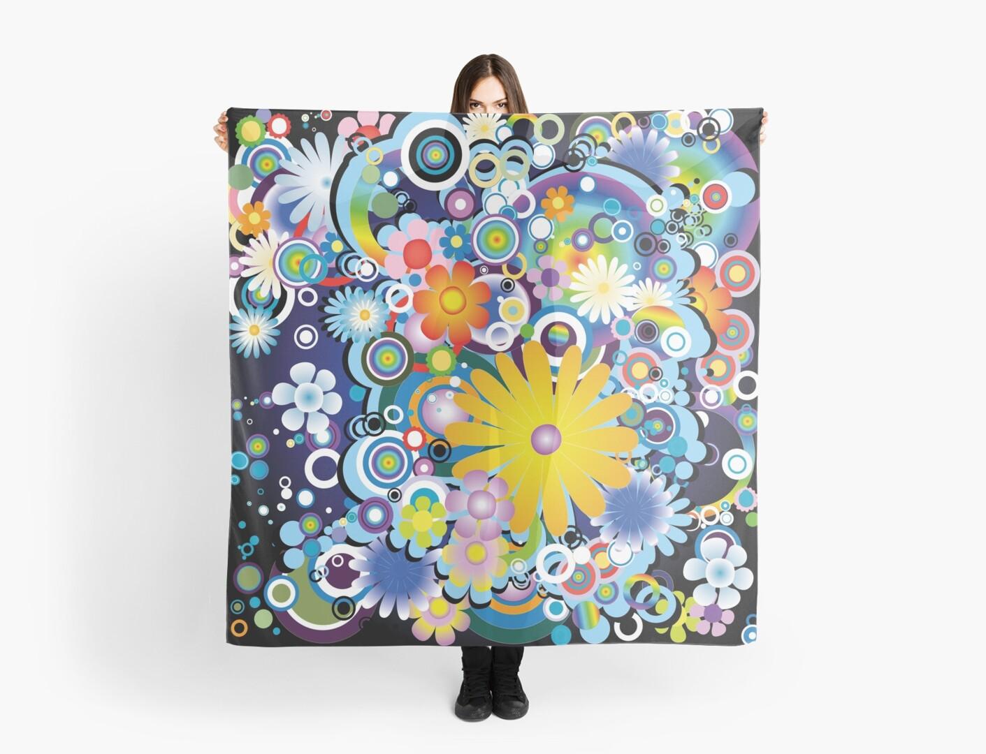 Stylish Flower Power Pattern by stylebytara