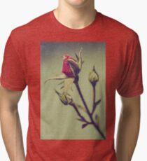 Blushing Bud Tri-blend T-Shirt