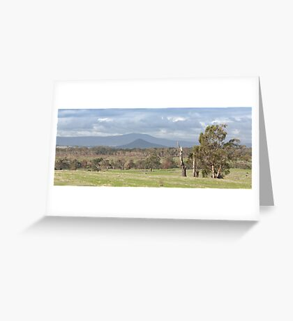 Kilmore Landscape Greeting Card