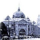 Flinders Street Station by Andrew Wilson