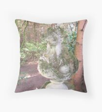 The Woman of the Woods Throw Pillow