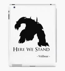 Volibear Mormont iPad Case/Skin
