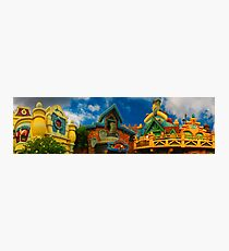 Toon Town Skyline Photographic Print