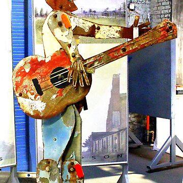 Guitar Man by CeciliaCarr