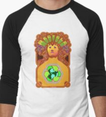 Recycle Mother Earth Planet Men's Baseball ¾ T-Shirt
